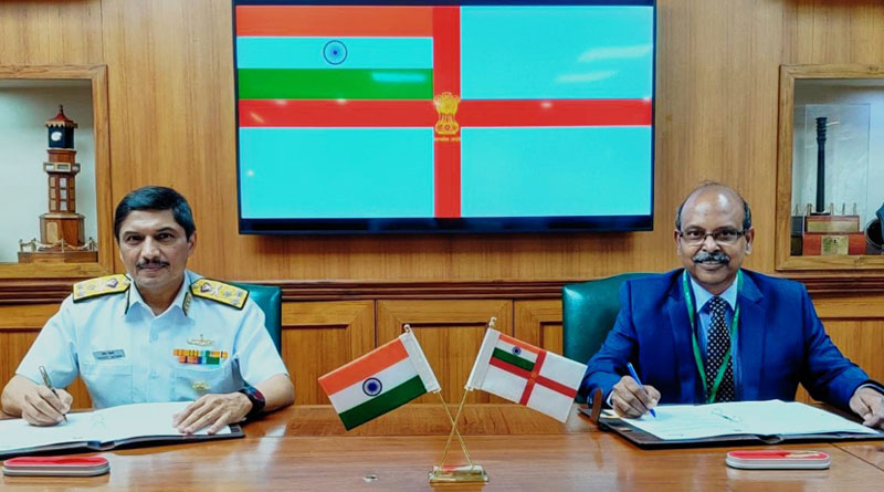 Indian Navy and BEL Sign MoU for Technology Incubation Forum