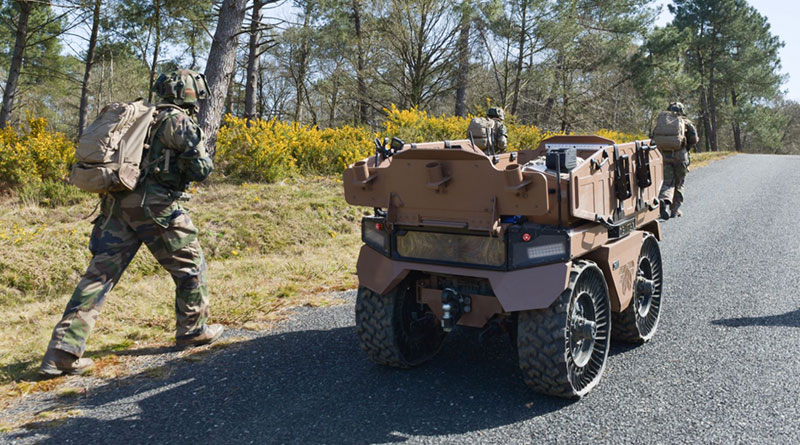 Nexter Invited to Showcase its Capabilities by GICAT on Air-Land Robotics Day