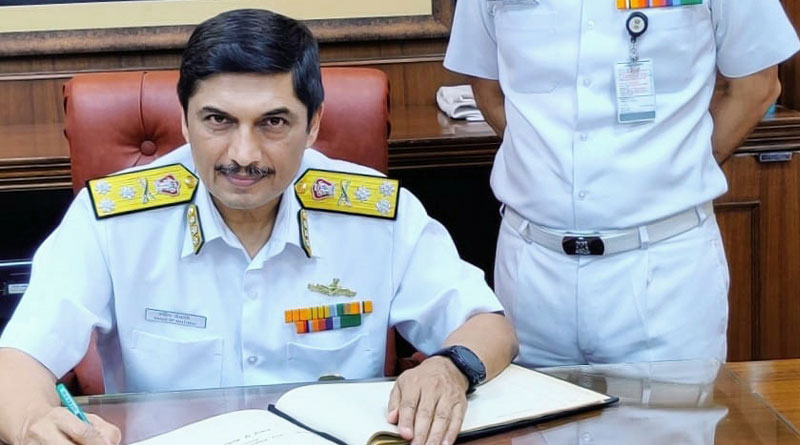Vice Admiral Sandeep Naithani Assumes Charge as the Chief of Materiel