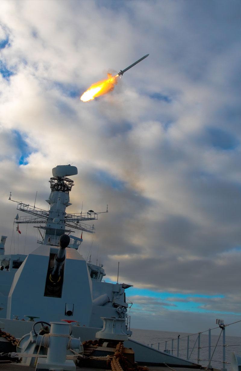 MBDA's Sea Ceptor Ordered for Brazilian Navy