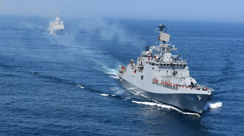 INS TABAR And FNS Aquitaine Complete Joint Maritime Exercise
