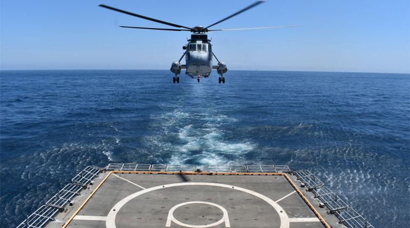 INS Tabar and Spanish Navy Undertake Maritime Partnership Exercise