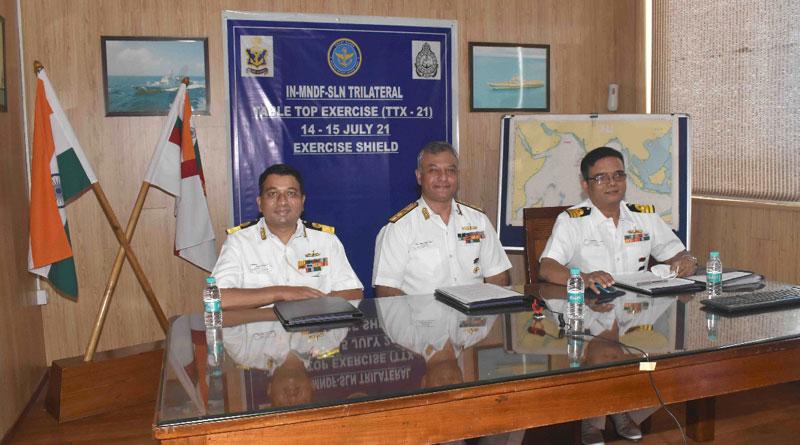 Exercise Shield Held Virtually between India, Sri Lanka and the Maldives