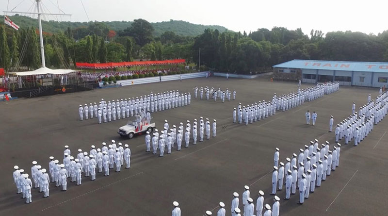 Passing Out Parade Ceremony Held at INS Chilka