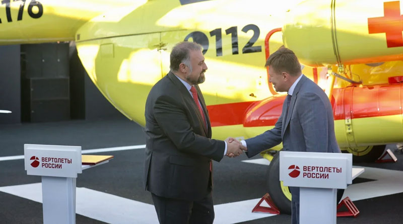 Rostec to Supply Mi-8AMT Helicopters to UTair