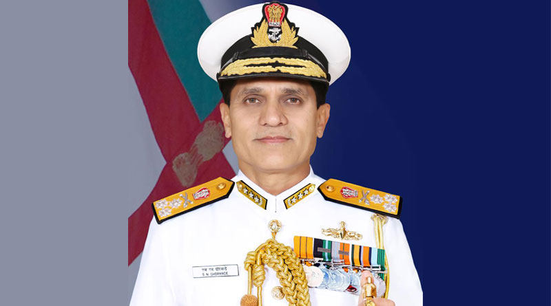 Vice Admiral S N Ghormade Takes Over as Vice Chief of Naval Staff
