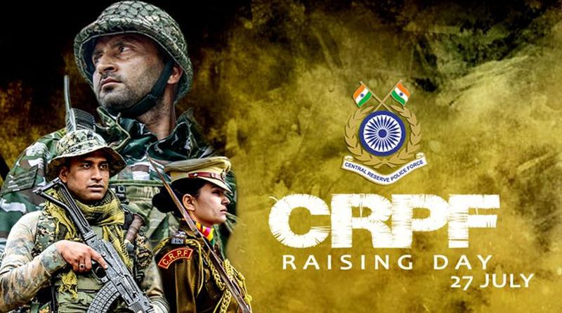 CRPF Celebrates 83rd Raising Day