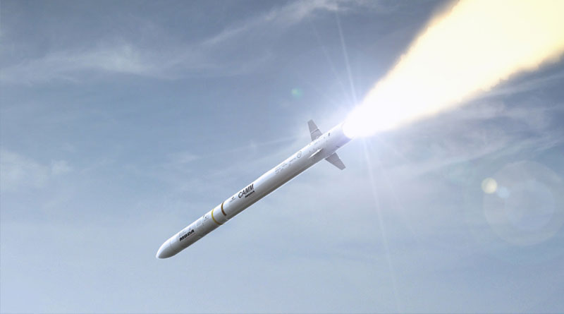 Royal Navy Extends Contract to Procure CAMM from MBDA