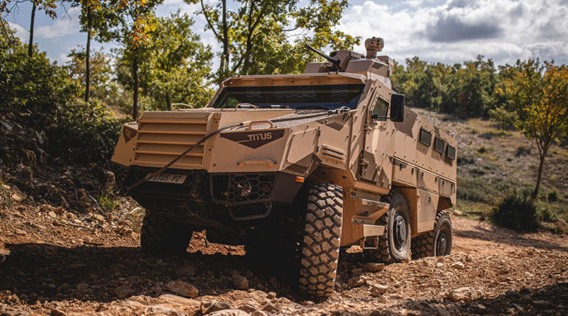 Nexter Exhibits Defence Products at SOFINS