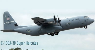 TLMAL Celebrates Delivery of 150th C-130J Super Hercules Empennage