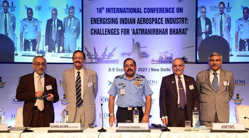 Sixteenth International Conference on Energising Indian Aerospace Industry Held