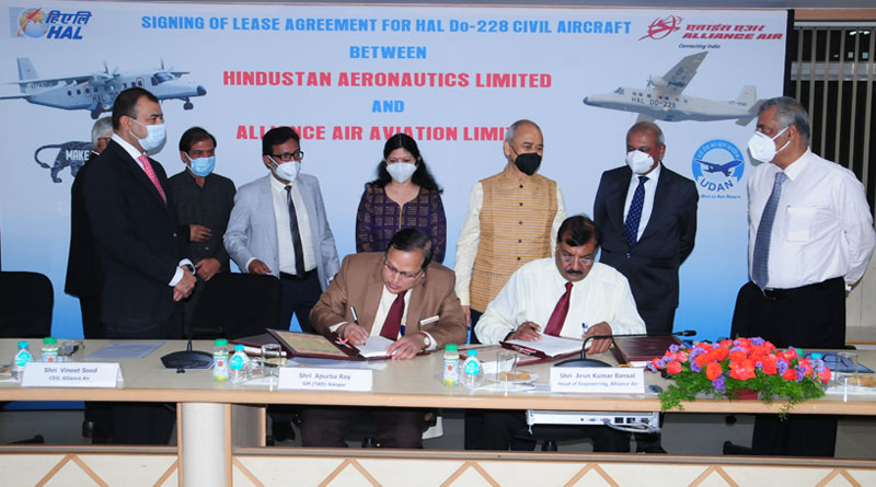 HAL Signs Pact with Alliance Air for Do-228 Aircraft Deployment in Arunachal