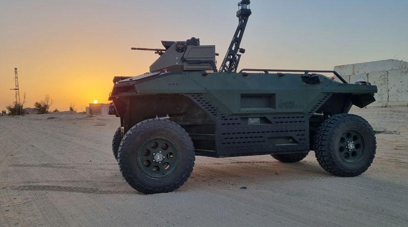 IAI Unveils REX MK II Unmanned Land Vehicle