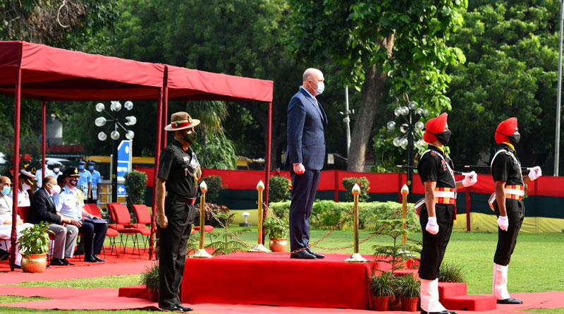 Australian Defence Minister Peter Dutton Visits India