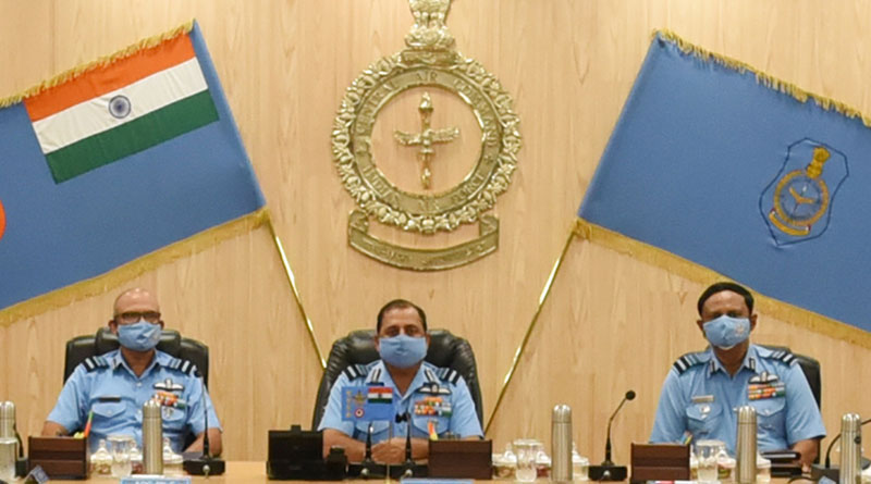 CAS Visits Headquarters of Central Air Command