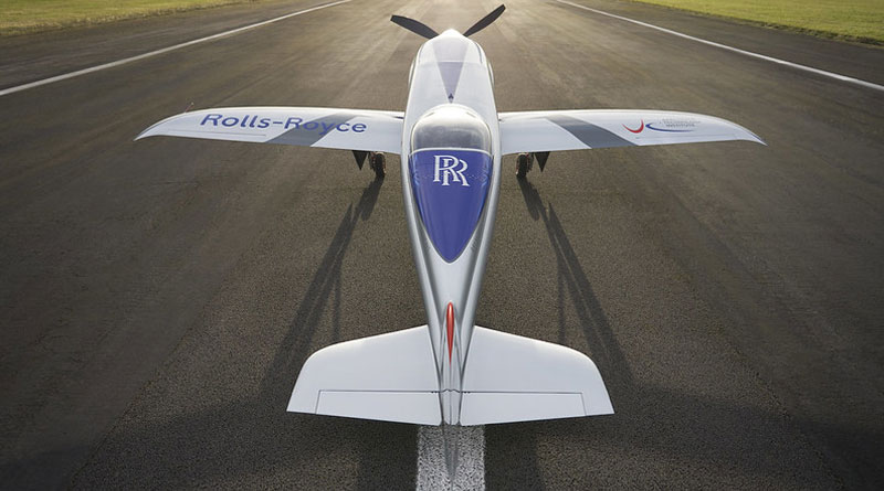 Rolls-Royce's All-Electric 'Spirit of Innovation' Takes to the Skies