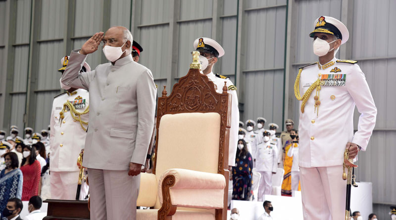 President's Colour Presented to Naval Aviation