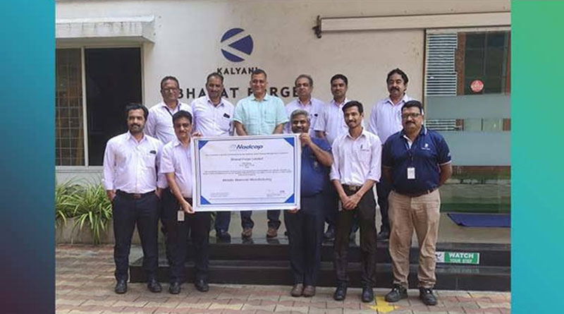 Bharat Forge Becomes First Indian Company to Receive Nadcap Accreditation