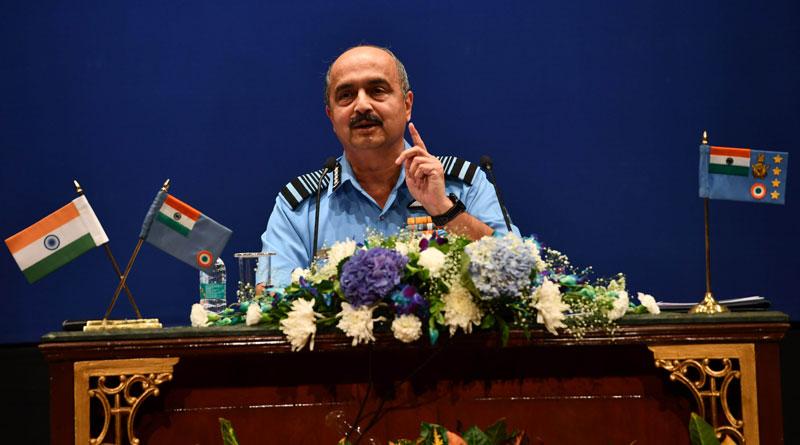 Air Chief Marshal V R Chaudhari Holds Annual Press Conference