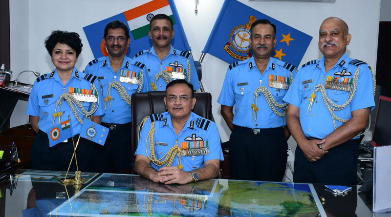 Air Marshal Amit Dev Takes Charge of Western Air Command