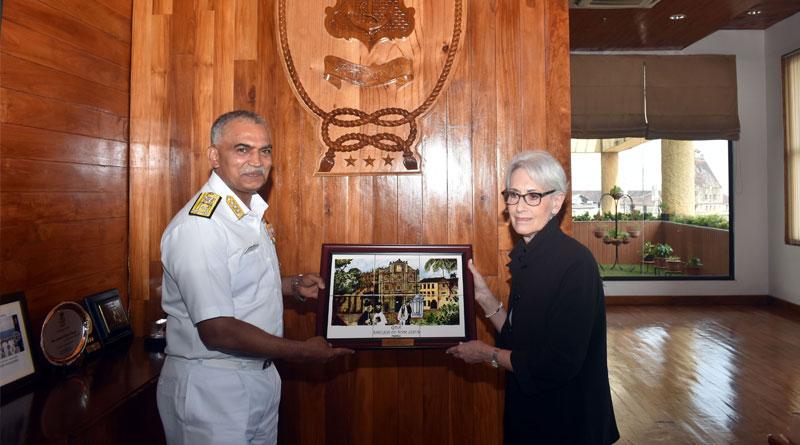 Ambassador Wendy Sherman, Deputy Secretary of State, US Visits HQWNC