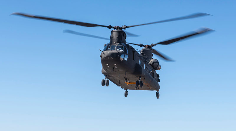 Boeing Signs First CH-47F Block II Chinook Production Contract