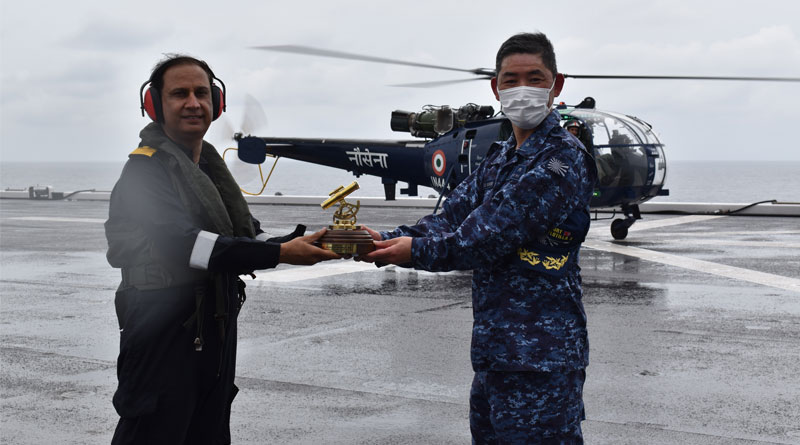 Fifth Edition of Japan-India Bilateral Maritime Exercise JIMEX