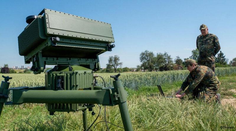 Thales Unveils the Ground Observer 20 Multi Mission Radar