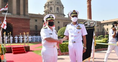 Gearing up for Malabar Exercises: Chief of US Naval Operations Visits India
